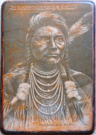 Picture of Chief Joseph of the Nez Perce by Bill O'Neill