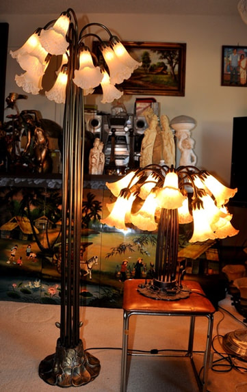 Tiffany Style Lamps Figural Lamps Floor Lamps Table