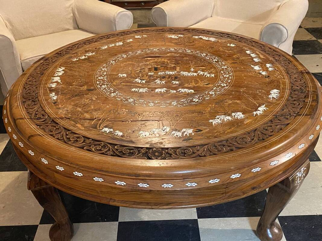 Coffee Tea Tables Dining Tables Game Tables Ornate Mirrors Cabinets Curios Etageres Pedestals Planters Plant Stands Wine Tea Service Cart Fireplace Screens Bamboo Rattan Items Etc