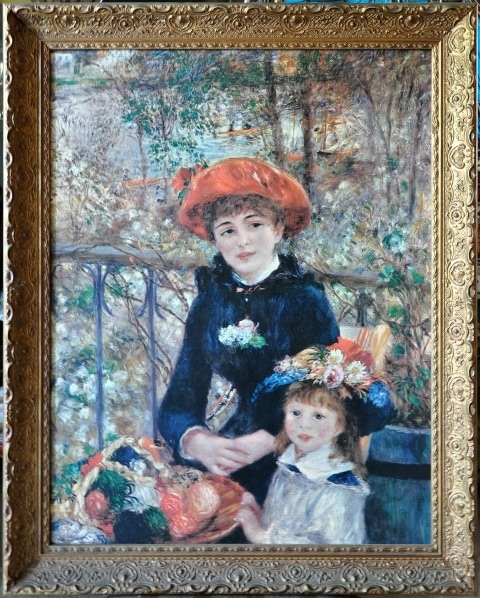 Two Sisters (On the Terrace) by Renoir