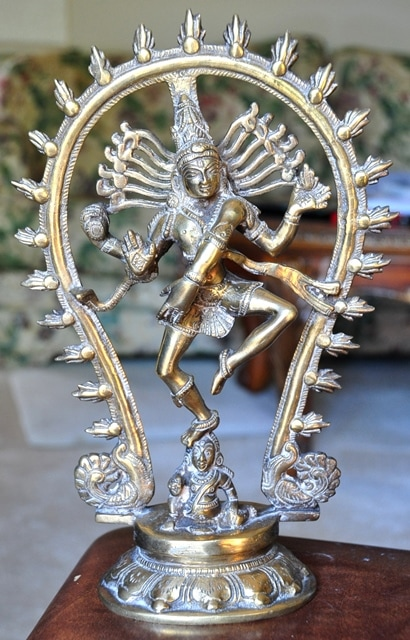 Brass sculpture of Nataraja (Shiva as Lord of Dance)