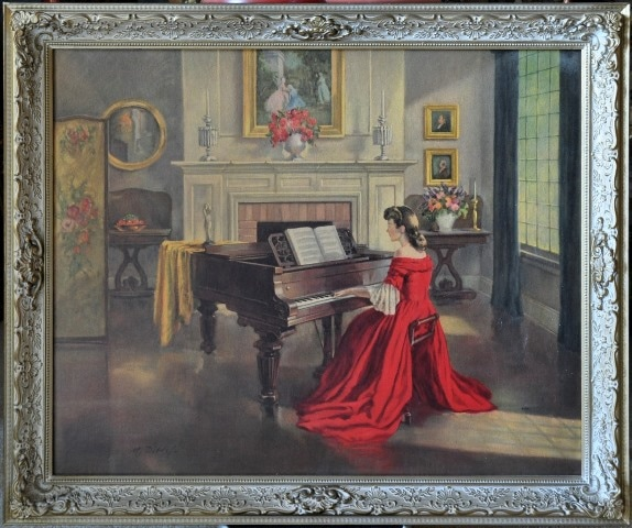 Framed print of Sonata by M. Ditlef