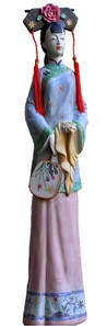 Manchu lady doll